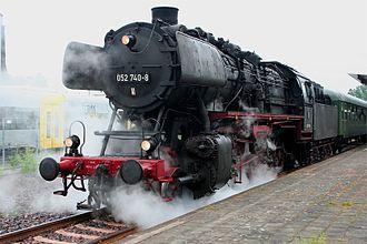 DRB Class 50 - Image: 052 740 8 in Mayen 20060520