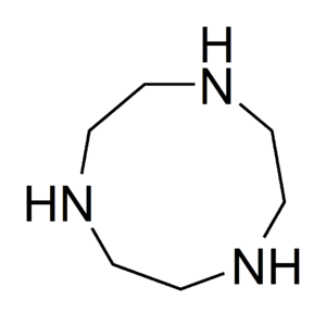 1,4,7-Triazacyclononane - Image: 1,4,7 triazacyclononane