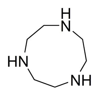1,4,7-Triazacyclononane - Image: 1,4,7 triazacyclononane