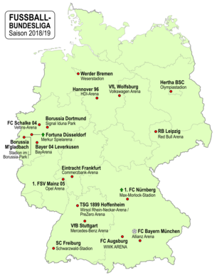 Fussball Bundesliga 2018 19 Wikipedia