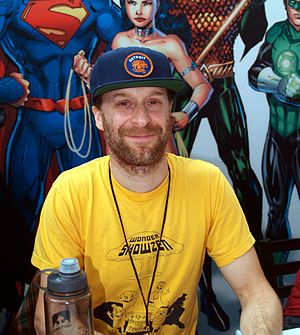 Jon Glaser - Glaser at the New York Comic Con