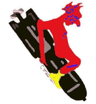 2d Day Bombardment Group - Image: 100th Aero Squadron Color Emblem
