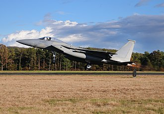 104th Fighter Wing - Image: 104th Fighter Wing F 15 Eagle