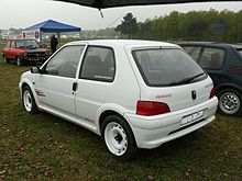 Peugeot 106 wikip dia for Interieur 106 sport