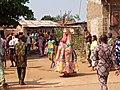 10 Janvier à Ouidah; Egoun goun en déambulation 08.jpg