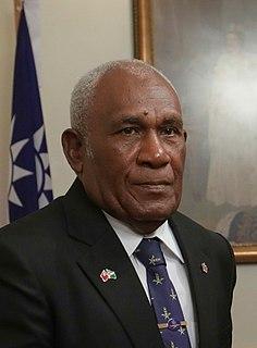 Frank Kabui Governor-General of the Solomon Islands