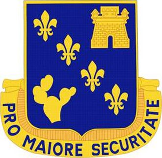 129th Infantry Regiment (United States) - Image: 129 Inf Rgt DUI