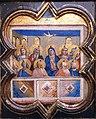 1356 Gaddi Die Ausgießung des Heiligen Geistes Gemäldegalerie Kat.Nr. 1073 anagoria.jpg