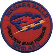136th Expeditionary Airlift Squadron - OIF Patch