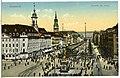 14151-Dresden-1912-Aufziehen der Wache - Neustädter Markt, Hauptstraße-Brück & Sohn Kunstverlag.jpg
