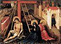 15th-century unknown painters - Christ as Man of Sorrow below the Cross - WGA23510.jpg