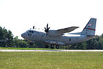 164th Airlift Squadron - C-27J taking off from Mansfield.jpg