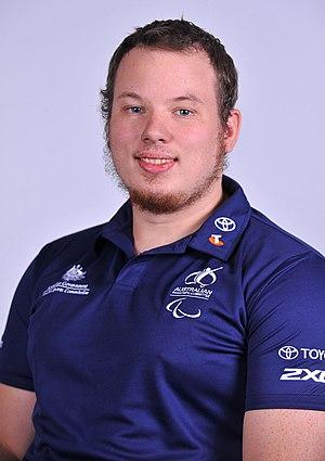 Shaun Norris - 2012 Australian Paralympic Team portrait of Norris