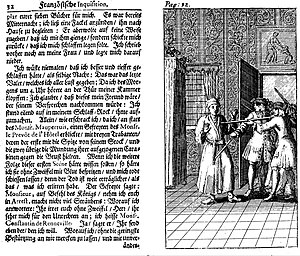 René Auguste Constantin de Renneville - German edition of Renneville's French Inquisition (1715): the author's arrest.