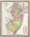 1850 Cowperthwait - Mitchell Map of New Jersey - Geographicus - NJ-m-50.jpg
