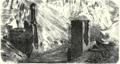 1850s bridge engraving Akhurian River Ani Turkey.png