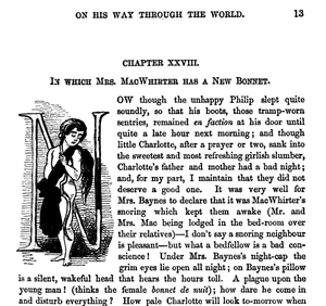 Cornhill Magazine - Detail from issue for January 1862