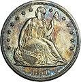 1871 Proof Seated Liberty Dollar obverse.jpg