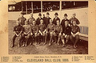1888 Cleveland Blues season - Team photograph