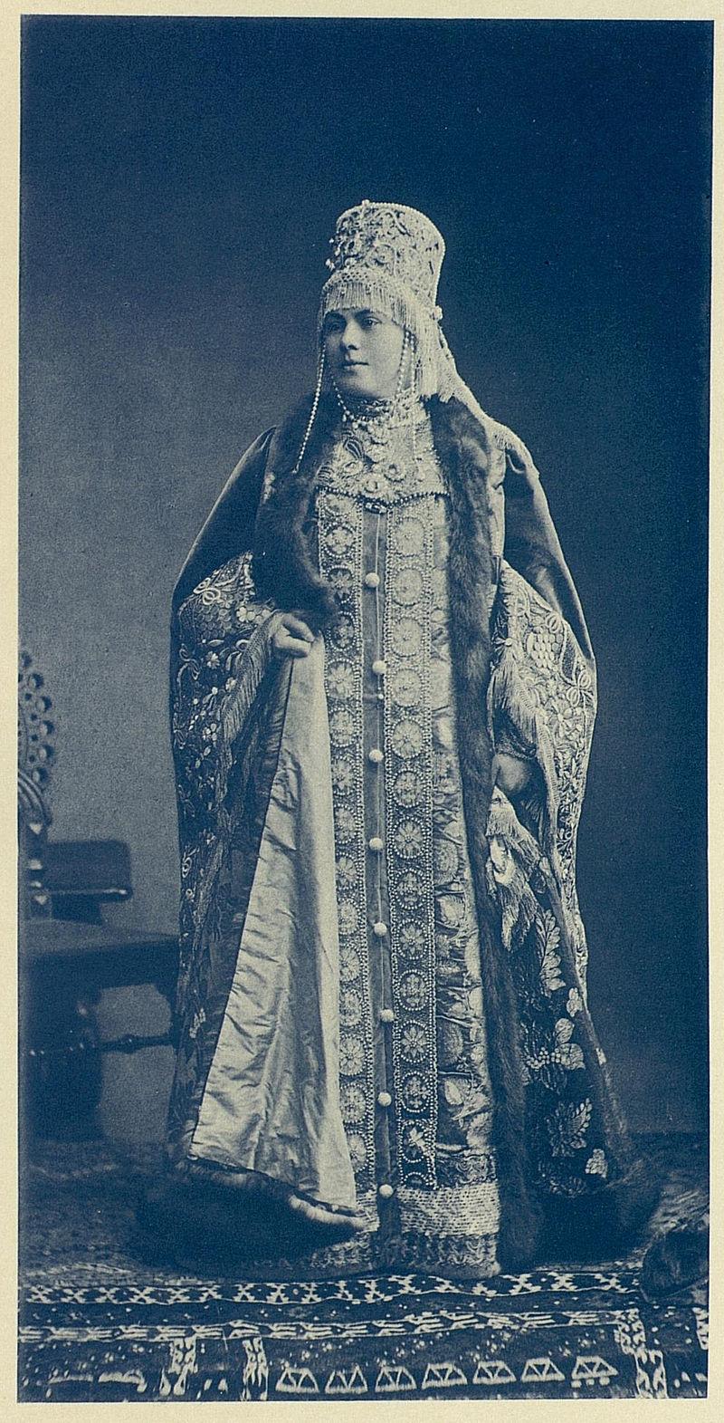 1903 бал - Наталья Федоровна. Karlova.jpg