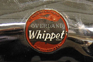 Willys - A Willys-Overland Whippet badge 1928