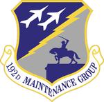 192 Maintenance Gp emblem.png