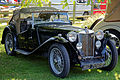 1946 MG Convertable at Capel Manor, Enfield, London, England.jpg