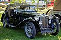 1946 MG Convertable at Capel Manor, Enfield, London, England.jpg