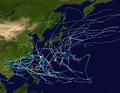 1960 Pacific typhoon season summary map.png