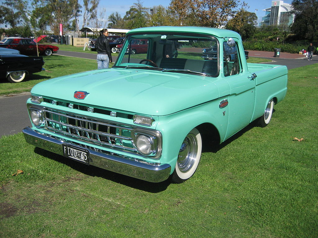 Ford F650 Pickup For Sale >> File:1965 Ford F100 Pick Up.jpg - Wikimedia Commons