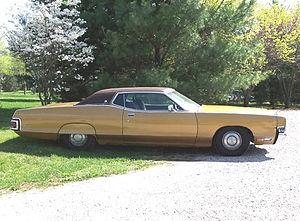 Mercury Marquis - 1972 Mercury Marquis 2-door