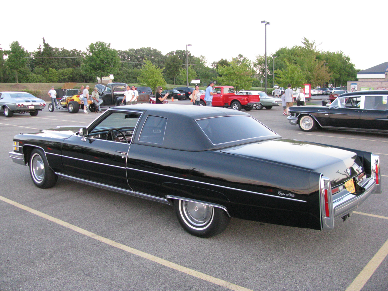 File 1974 Cadillac Coupe Deville Black Png Wikimedia Commons