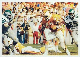 Ricky Bell (running back) - Bell playing for the Buccaneers in 1979