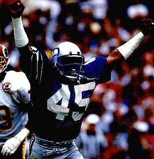 Kenny Easley All-American college football player, professional football player, defensive back, safety