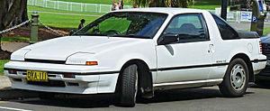 Nissan EXA - 1988–1990 Nissan EXA coupe (Australia)