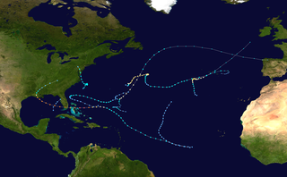 1992 Atlantic hurricane season Hurricane season in the Atlantic Ocean