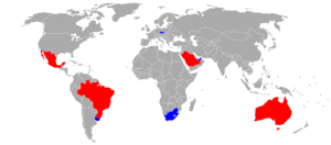 1997 FIFA Confederations Cup - 1997 FIFA Confederations Cup participating teams