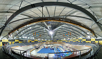 Velodrome - The Dunc Gray Velodrome located in the City of Bankstown in Sydney, Australia