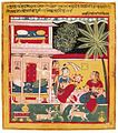1 Nasiruddin. Malashri ragini. Page from Chawand Ragamala series. Chawand, Mewar, Rajasthan. dated 1605(inscribed, Painted Nasiruddin at Chawand in 1605). LACMA.jpg
