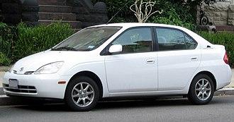 Toyota Prius (XW10) - Image: 1st Toyota Prius 07 28 2011