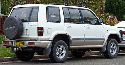 1998 1999 Isuzu Trooper 2001 2003 Holden Jackaroo Ubs Se 5 Door Australia
