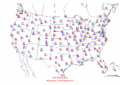 2002-10-01 Max-min Temperature Map NOAA.png