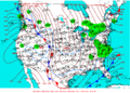 2003-01-23 Surface Weather Map NOAA.png