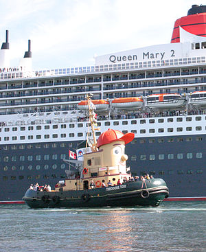 2004 Theodore Too & Queen Mary 2 in Halifax.jpg