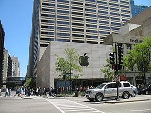 Magnificent Mile Apple Store