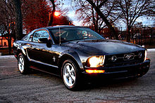 2007 Ford Mustang V6 Coupe With Pony Package