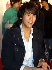 2008TIBE Day2 Hall2 MightyMedia Honey and Clover Signing EddiePeng.jpg