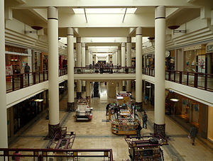 Roseville, Minnesota - Rosedale Center, built in 1969, is a major regional shopping mall