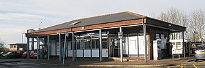 2009 at Honiton station - ticket office.jpg