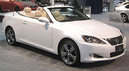 2010 Lexus IS C -- 2010 DC.jpg